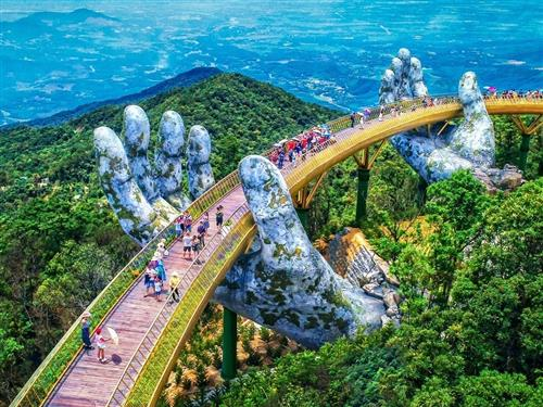 Vietnam's Golden Bridge